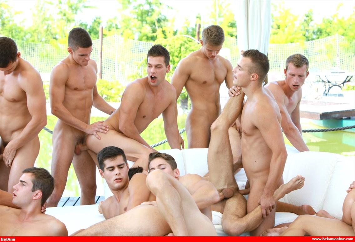 Bel Ami Gay Orgy
