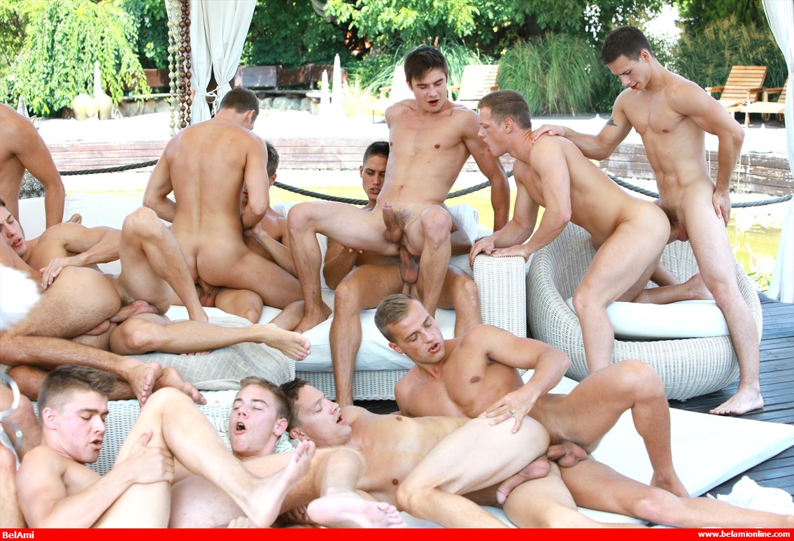 gay boy orgies how big is the average penis size