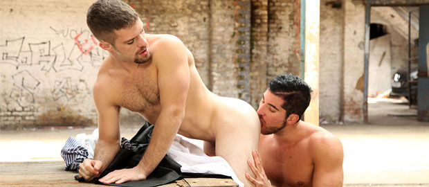 "Photo of [UK Naked Men] Leo Domenico se folla el culito apretado de Adam Wirthmore en ""Fuck Loving Criminals, Part 1"""