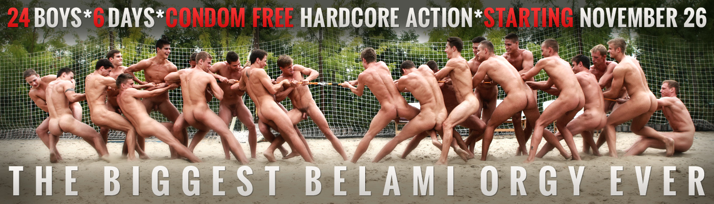 THE BIGGEST BEL AMI ORGY EVER