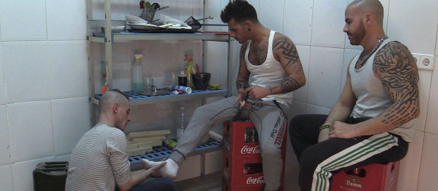 "Photo of [Hard Kinks] Aday Traun y Steven F se follan y putean a Dany Reda en ""The Boss' Son"""