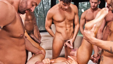 jerk off with dick down