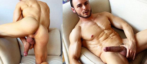 Photo of [Lucio Saints] El madrileño Gabriel Vanderloo se casca una paja en el sofá de LucioSaints.com