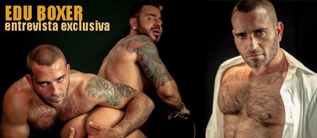 """Photo of Entrevista exclusiva a Edu Boxer en su regreso al porno gay con """"Law Submission"""" para HardKinks.com"""