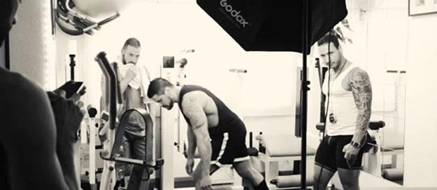 Photo of Making of exclusivo de la escena con Antonio Miracle, Mario Domenech y Alejandro Dumas