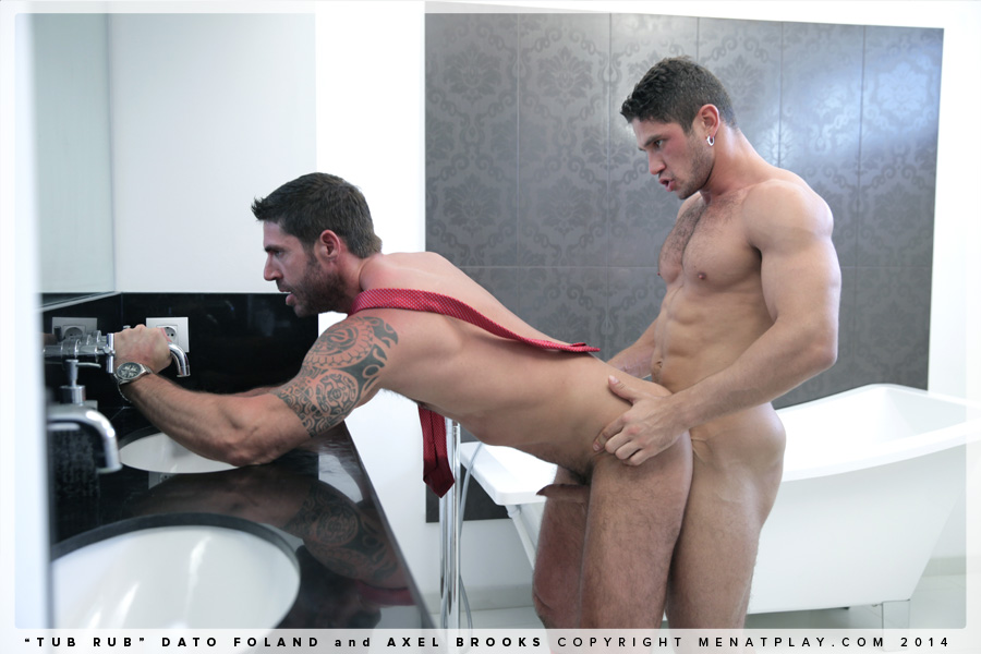 Steaming Sexy Axel Brooks And Dato Foland Tasteful Blowjob