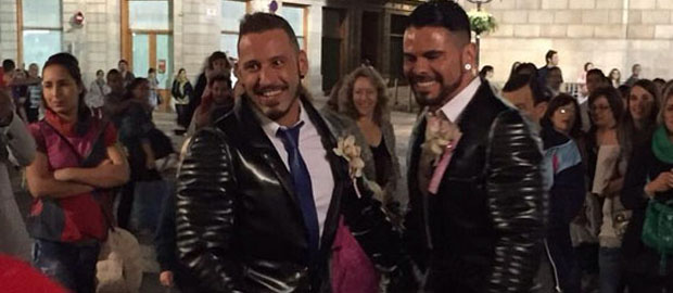 Photo of Antonio Miracle y Mario Domenech ya se han casado