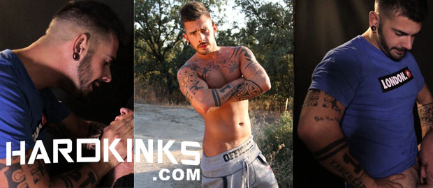 Photo of Casting porno gay con Aday Traun para HardKinks.com + Cop's Hell 2 con Alberto Brown