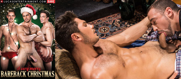 "Photo of LucasEntertainment.com presenta ""A Very Merry Bareback Christmas"" navidades a pelo con Dato Foland y muchos más"