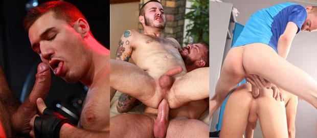 Photo of [Gay Porn Flash!] Damian Gomez & Rocco Steele, Letterio & Theo Ford, encuentros en el instituto, cruisin y pajilleros