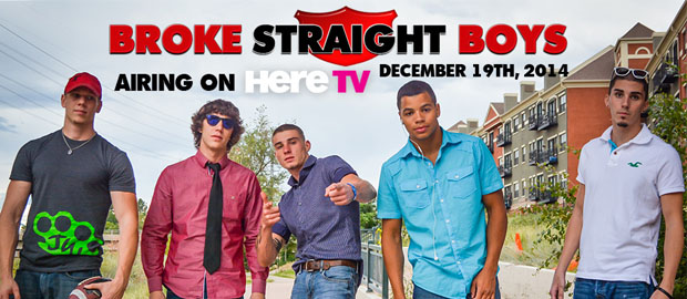 "Photo of Broke Straight Boys ""The Reality Series"" comienza el 19 de diciembre mostrando el mundo del porno gay for pay"