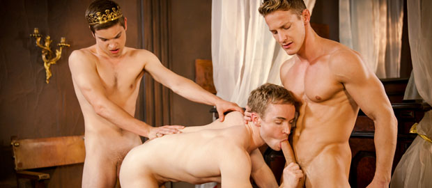 "Photo of [MEN] Johnny Rapid se folla a Darius Ferdynand y Gabriel Cross en ""Gay Of Thrones, Part 6"""