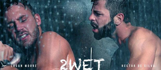 """Photo of [Men At Play] Hector de Silva y Logan Moore se calientan en la ducha en """"2wet"""""""