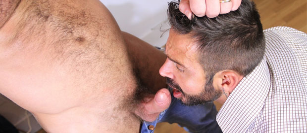 Photo of [Hard Kinks] El nuevo chico de la oficina Jessy Ares se folla a su jefe Martin Mazza