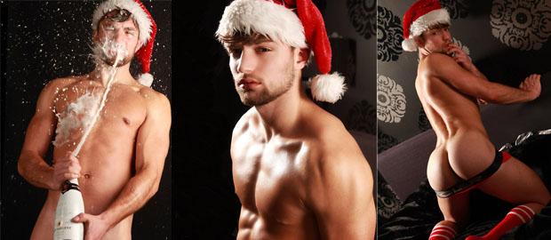 Photo of Chaze nos desea Feliz Navidad desnudo y mojado en las fotografías de Gert Kist