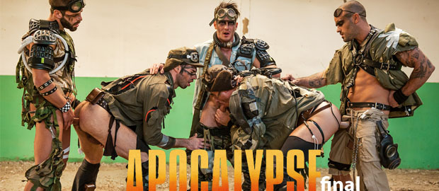 "Photo of [MEN] Orgía final con Paddy O'Brian, Damien Crosse, Hector De Silva, Dario Beck y Jay Roberts en ""Apocalypse"" (Parte 4)"