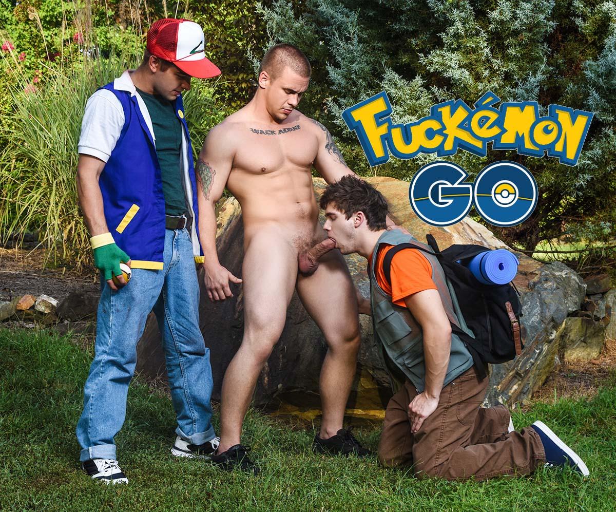Photo of [MEN] Especial Fuckémon GO: Fóllatelos a todos con Ash Johnny Rapid y Brock Will Braun follados por Peek-a-choo Adam Bryant