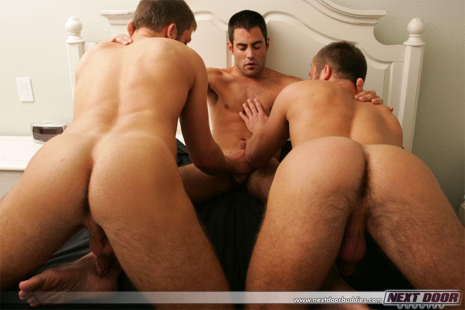 Photo of [Next Door] Especial hermanos Studding (parte 2): David Studding y Matt Studding con Justin Ryder y en el porno hetero