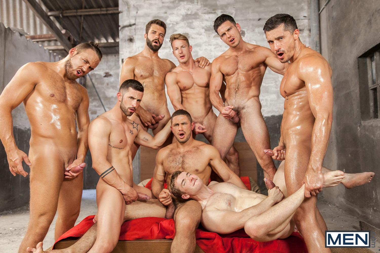 Photo of [MEN] Sense8 XXX Gay Episodio 5: Gran orgía final con Paddy O'Brian, Jay Roberts, Darius Ferdynand, Dato Foland, Logan Moore, Gabriel Cross, Hector De Silva y Sunny Colucci