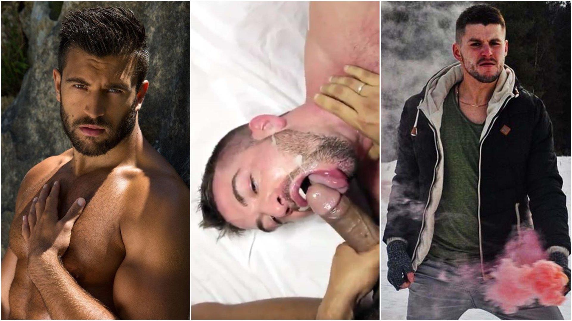 Photo of Gay Porn NOW | Viktor Rom se folla a Mario Domenech entre rejas, el ordeña pollas, experimentando el placer anal, donuts de leche y caritas lefadas