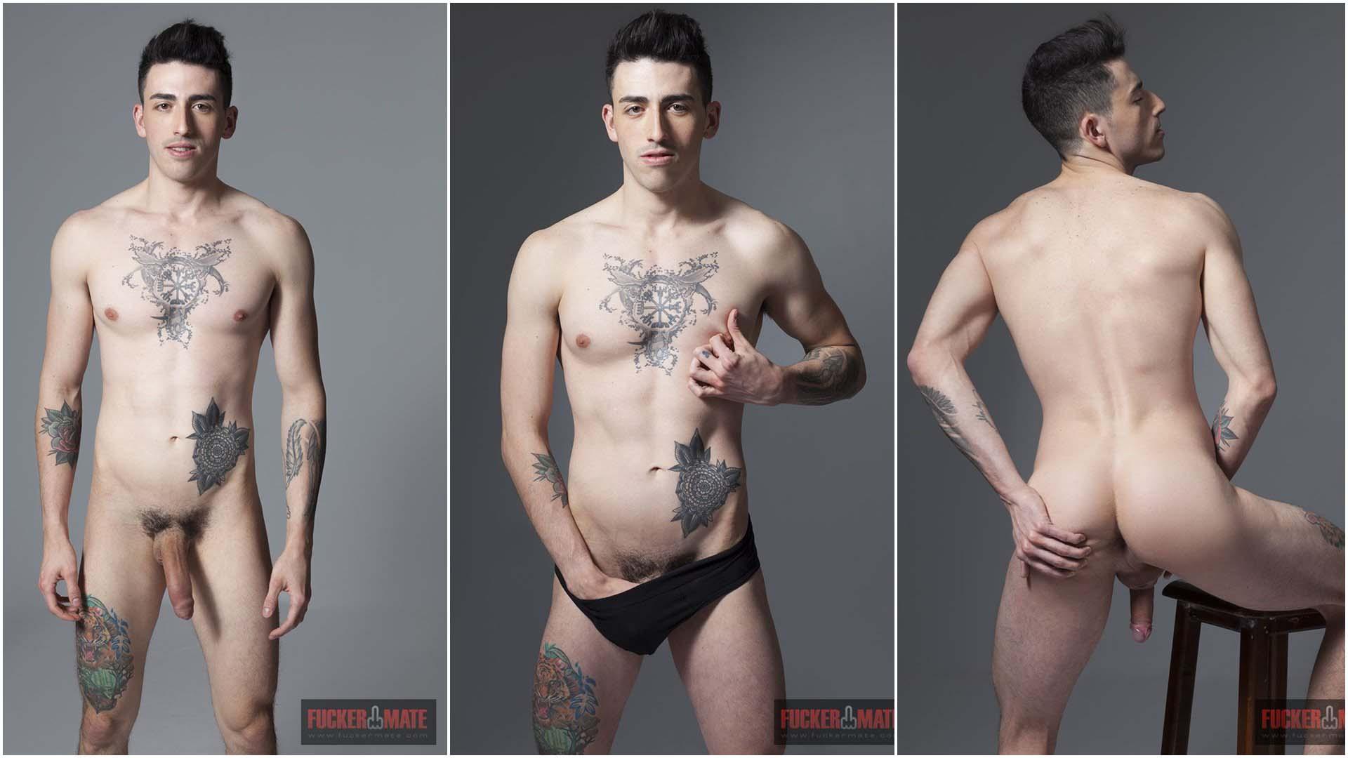 Photo of Alvaro Fizz se desnuda en la sesión fotográfica para Mano Martínez