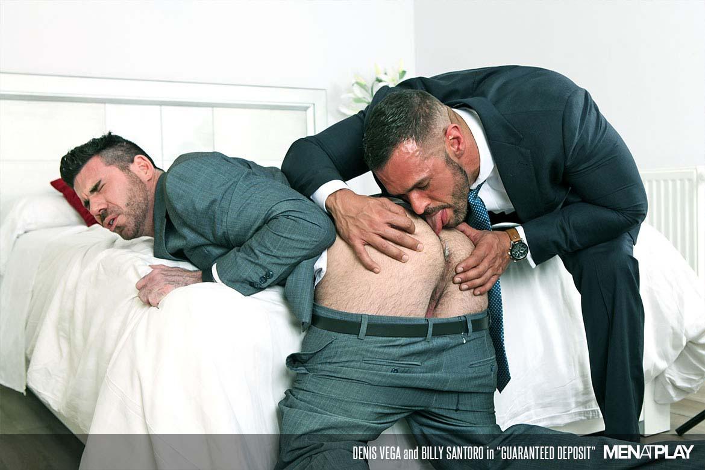 Photo of Denis Vega le mete a Billy Santoro un depósito de garantía por el culo | Men At Play