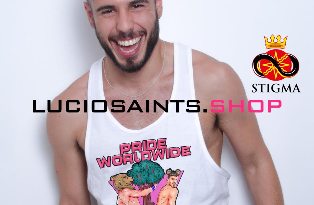 Photo of Camisetas Stigma by Lucio Saints edición Orgullo Gay en Madrid + Sorteo de 1 camiseta