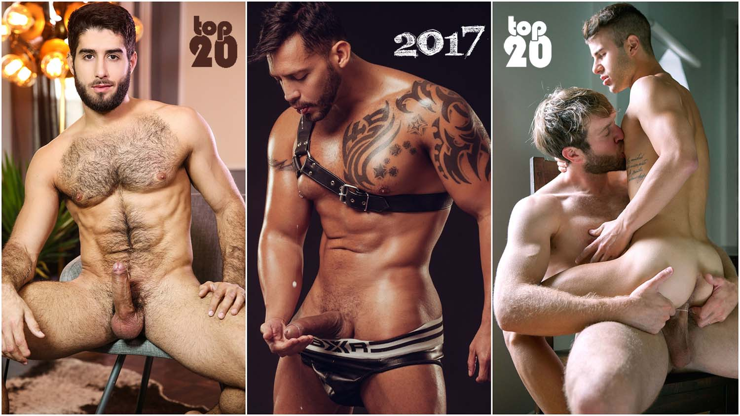 Photo of TOP 20 Actores Porno Gay 2017