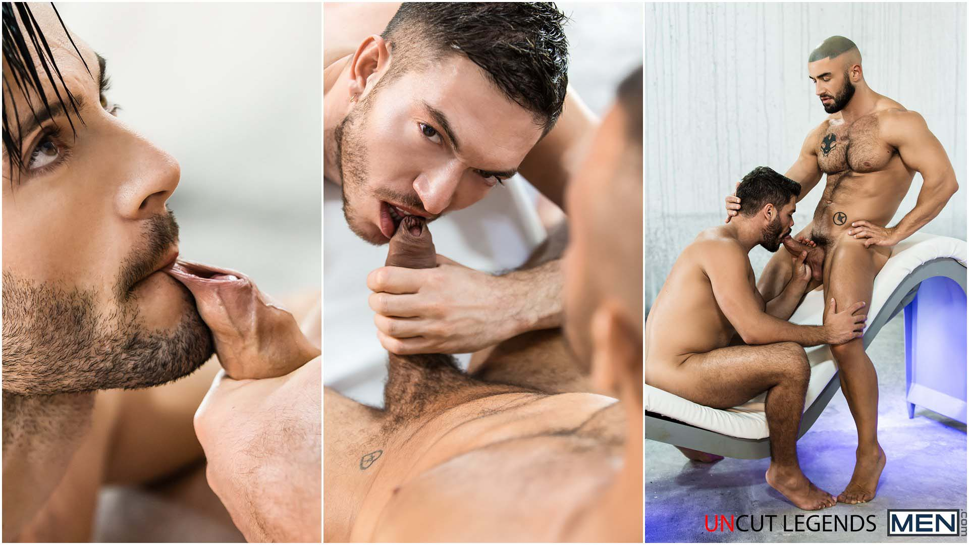 Photo of Uncut Legends: Dato Foland, Damien Crosse y Francois Sagat leyendas del porno con pollas sin circuncidar se follan a Andy Star, Rico Fatale y Nicolas Brooks | Alter Sin | MEN