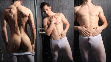 Photo of Elvis ducha caliente y calzones mojados | Male Model