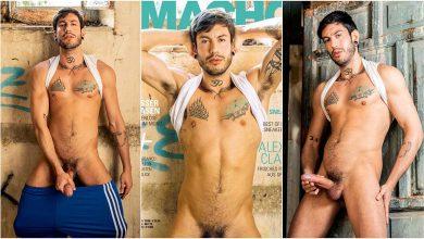 Photo of Alexis Clark portada de Macho Magazin