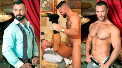 "Photo of Denis Vega y Victor D'Angelo flip-fuck en el restaurante de ""Maitre X"" 