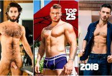 Photo of TOP 25 Actores Porno Gay 2018