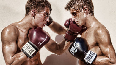 Photo of Jack Harrer y Jim Kerouac combaten sobre el ring | Bel Ami Online & Kinky Angels