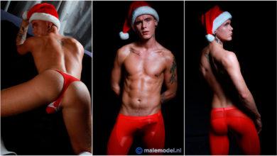 Photo of Scott Miller pone a Santa su culazo por Navidad | Male Model