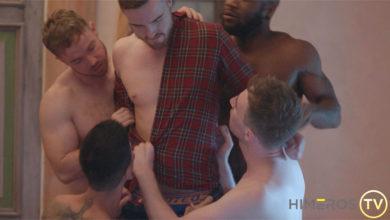 Photo of JP Dubois se une a una morbosa orgía sin reglas con Angel Cruz, Bishop Black, Gabriel Cross y Kayden Gray | Himeros TV