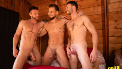 Josh-Justin-Sean-The-Cabin